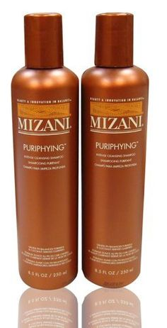 "Mizani Puriphying Intense Cleansing Shampoo 8oz ""Pack of 2"" by MIZANI. $17.98. Mizani Puriphying Intense Cleansing Shampoo 8oz ""Pack of 2"". An emollient-rich, acidic wash that conditions and smoothes the cuticle while it removes dirt and other polluting elements. This deep-cleansing shampoo provides an immediate infusion of moisture and protein that allows strand flexibility"