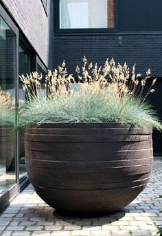 another view of a popular Large flower pot | adamchristopherdesign.co.uk