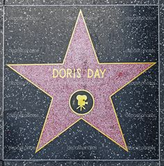 images of stars on the hollywood walk of fame | Doris Day. Films. | Hollywood Walk of Fame. | Pinterest