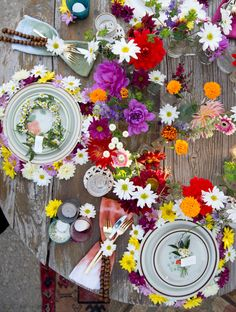 The Jam Event's Woodstock tablescape