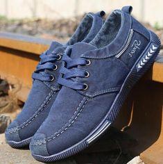 5ea392cf65c Denim Plimsoll Canvas Men Shoes. Radek Kurek · Moda męska · Nike Sock Dart  ...