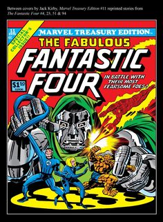 Marvel Treasury Edition #11, all reprint issue, cover art by Jack Kirby.