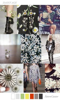 TRENDS // PATTERN CURATOR - DAISY AGE . SS 2018