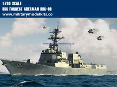 USS Forrest Sherman DDG-98 Trumpeter 83414