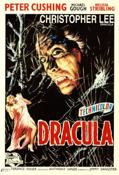 "vintage horror movie posters | ... DRACULA"" (1958) – MOVIE POSTER GALLERY! 