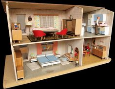 1966 Gottschalk Puppenhaus backside, via Flickr.