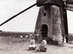 Cane Crusher Windmill, #Barbados History