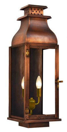 Water Street - Copper Lighting - The CopperSmith - Gas and Electric Lighting