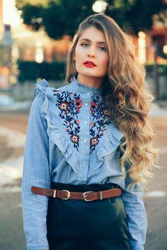 Embroidered Shirt | Mia's Dreams Blog