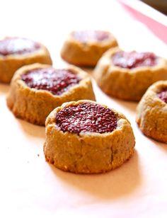 Peanut Butter & Jelly Cookies| Kayla Itsines