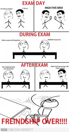 LoL this was us on the last couple of nursing exams lol @ Ali Griffin and robin mayhall