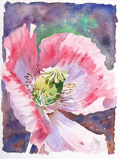 Web site with lots of watercolors