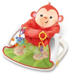 Amazon.com : Fisher-Price Sit-Me-Up Floor Seat with Tray : Baby