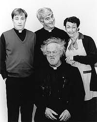 Father Ted. So funny!! I came across this a few years ago, when it was repeated on one of the satellite channels.