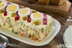 Russian salad recipe (from my mother) - Cuisine - Hühnerrezepte