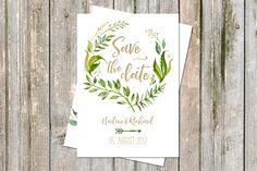 **SAVE THE DATE** _50 Karten im Set Design: LEAFY_ Mit diesen Karten vergisst sicher niemand so schnell deine Hochzeit! Wir lieben einfach den roten Faden, der sich von vorne bis hinten...