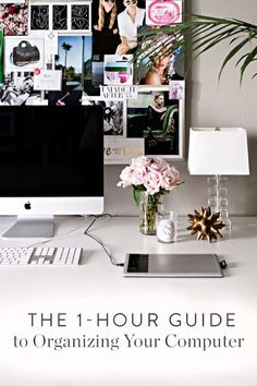 The 1-Hour Guide to Organizing Your Laptop (Once and for All) via @PureWow