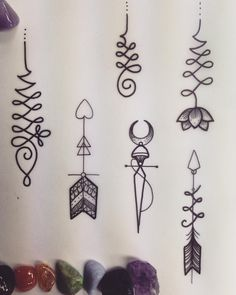 Afbeeldingsresultaat voor tattoo unalome lotus
