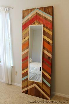 Inspiration Image for DIY Floor Mirror