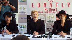Crooked: COLETIVA DE IMPRENSA - LUNAFLY NO BRASIL