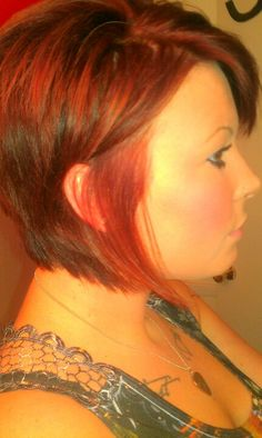 Love! Not for me but love this cut fun to do with clients