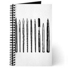 pens on white Journal