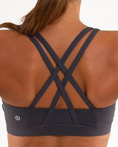 i love this lulu sports bra! I'm convinced going out and buying workout gear i love motivates me to work out...