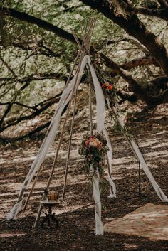 This outdoor ceremony featured a boho tepee backdrop adorned with summery blooms Leonard Lake, Writing A Mission Statement, Low Budget Wedding, California Destinations, Rustic Wedding Inspiration, Outdoor Ceremony, Ceremony Arch, Best Photographers, California Wedding