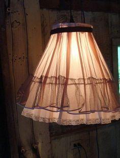 Lámpara vestido