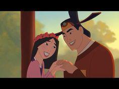 Fa Mulan and Li Shang Disney Quiz, Disney Songs, Disney Love, Disney Stuff, Disney Videos, Arte Disney, Disney Art, Disney Pixar, Disney Characters