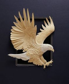 Animal Paper Sculptures by Calvin Nicholls