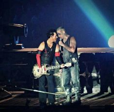 Richard Zven Kruspe and Till Lindemann