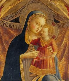 Fra Angelico (Italian, ca.1395-1455) ~ Virgin and the Infant