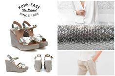 L'estate è alle porte, è tempo di sfoggiare il tuo nuovo paio di sandali! Oggi scopri i sandali con zeppa di Kork-Ease Shoes. Summer is almost here, it's time to bring out your sandals! Take a look at the new wedges by Kork-Ease.