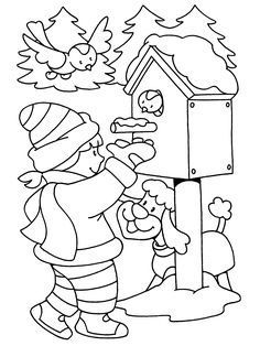 Winter Coloring Pages for children Coloring Pages Winter, Preschool Coloring Pages, Coloring Sheets For Kids, Christmas Coloring Pages, Colouring Pages, Coloring Pages For Kids, Coloring Books, Bible School Crafts, Winter Crafts For Kids