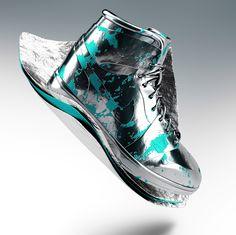 Vibrant Sneaker Renders Via Trouge.com