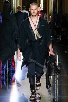Balmain Spring 2017 Menswear Fashion Show  - Look 63