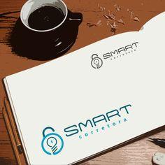Criação de logotipo para Smart Corretora por Foco Design & Gráfica.
