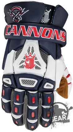 Boston Cannons Brine King IV Gloves, King Arm Pads | Inside Lacrosse