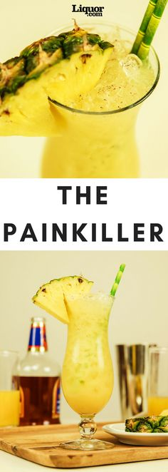Vacation in a Glass: The Painkiller--This tropical classic is just what the doctor ordered.