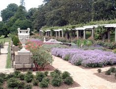 The Italian Garden at Maymont Park, Richmond, VA. Noland and Baskervill of Richmond designed the Dooleys' Italian Garden, using elements of the classical style developed in Italy in the 15th and 16th centuries as their model. Completed in 1910.