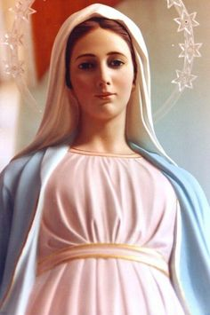 Our Lady of Medjugorje Blessed Mother Mary, Divine Mother, Blessed Virgin Mary, Religious Images, Religious Art, Our Lady Of Medjugorje, Hail Holy Queen, Images Of Mary, Queen Of Heaven