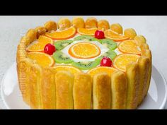 Tort diplomat – reteta video via Romanian Desserts, Romanian Food, Romanian Recipes, Cake Recipes, Dessert Recipes, No Cook Desserts, Pastry Cake, Sweet Tarts, Food Cakes