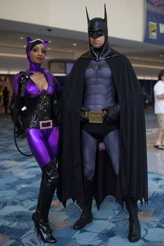 Batman and Catwoman #cosplay | The WonderCon 2013 Cosplay Gallery (500+ Photos) - Tested