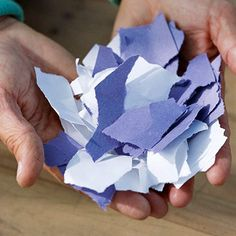 Surprisingly easy, the papermaking process takes just minutes and can be fun for kids, too. Then form your paper into all kinds of paper crafts for your home or for gift giving.
