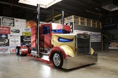 Iron Man Big Rig by Trick My Truck