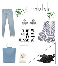 """""""Untitled #305"""" by kittiena ❤ liked on Polyvore featuring N°21, M.i.h Jeans, Topshop, Johanna Ortiz, DANNIJO and Marc Jacobs"""
