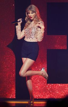 PHOTOS: Taylor Swift and Her Signature High-Waisted Shorts