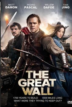 In this action-fantasy epic set in 11th century China, two mercenaries from the West (Matt Damon and Pedro Pascal) are captured by a military organization that are headquartered in a fortress on the Great Wall. In time, the duo get caught up in a battle between the Chinese warriors and a supernatural menace that the Great Wall was built to repel. Jing Tian, Andy Lau, Zhang Hanyu, Willem Dafoe, and Eddie Peng co-star. Directed by Zhang Yimou (Hero, House of Flying Daggers), this collaboration…
