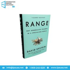"""We came across this interesting book """"Range"""". It is a must-read for everyone from bosses to parents who wish to improve the performance of their own or their kids or employees. So, grab this book, relax, and happy reading! Happy Reading, Book Lovers, Books To Read, Parents, This Book, Relax, Success, Range, Business"""